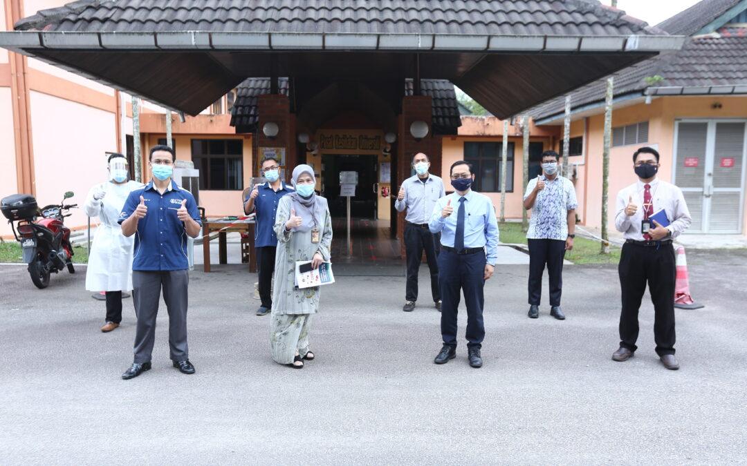 Naib Canselor melawat Pusat Kesihatan Universiti (PKU)
