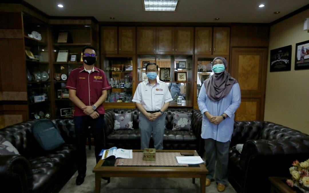 Kunjungan Hormat Pengurusan Pejabat Kelestarian Kampus UTM