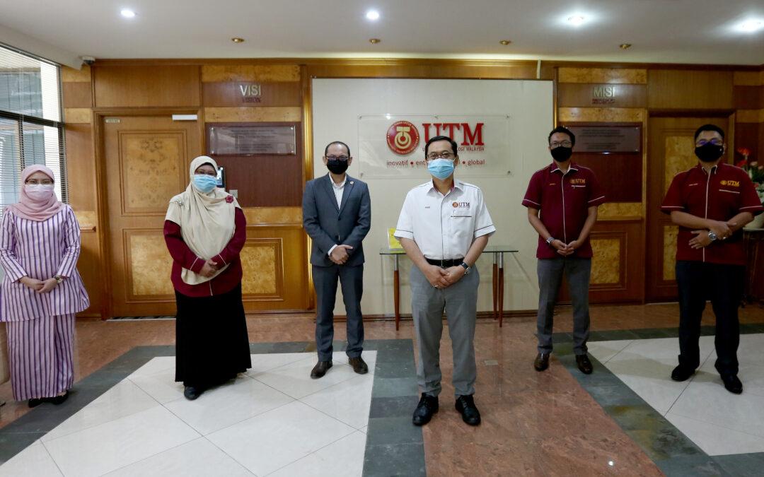 Kunjungan Hormat Pengurusan Pejabat Hal Ehwal Korporat