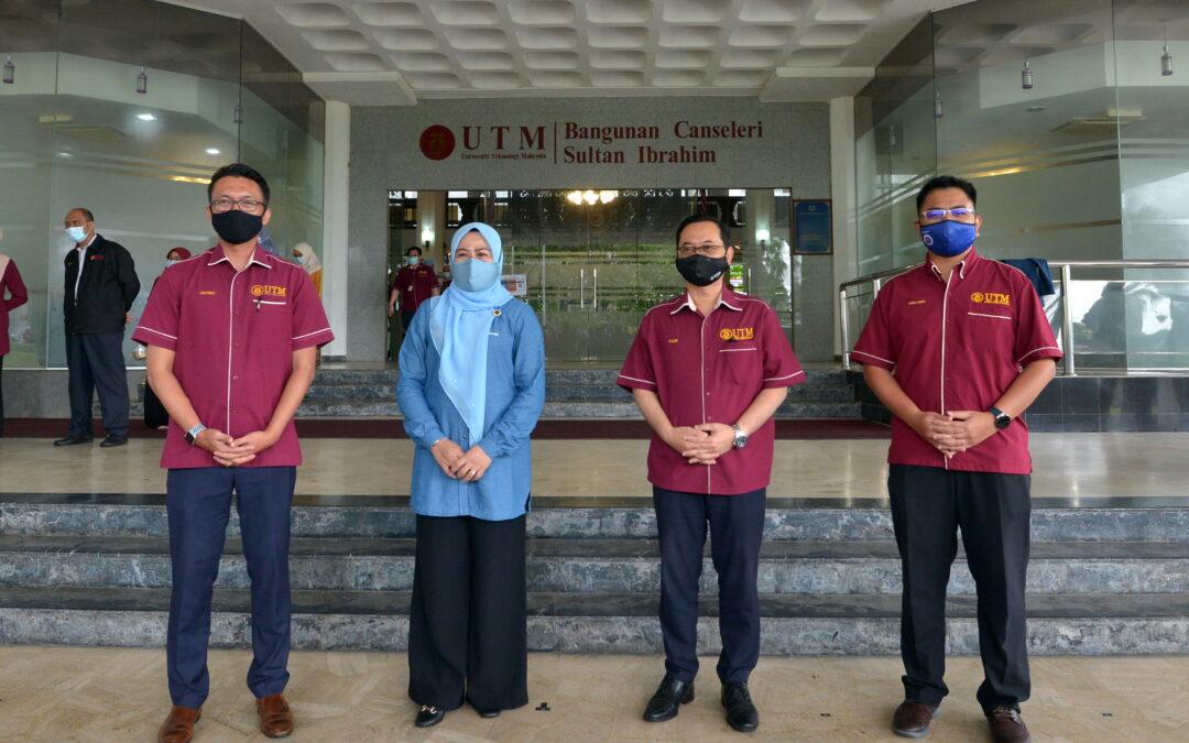 Majlis Menandatangani Memorandum Persefahaman (MoU) antara UTM & Perbadanan Tabung Pendidikan Tinggi Nasional (PTPTN) serta penyampaian Biasiswa Endowment UTM