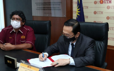 Memorandum Persefahaman (MoU) Universiti Teknologi Malaysia (UTM) Bersama Jabatan Tanah Dan Survei, Negeri Sarawak